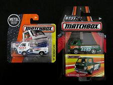 Matchbox Best Of The World 66' & Mainline '66 Dodge A100 Pickup Truck, Set of 2