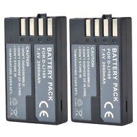 2 D-Li109 DLi109 D-Ll109 rechargeable Battery for Pentax k-r kr k-2 k2 K30 K-30