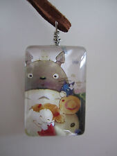 Studio Ghibli Totoro Jewellery Two Sided Time Gem Necklace Sweater Chain Anime