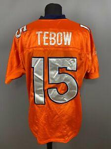 TIM TEBOW DENVER BRONCOS JERSEY NFL FOOTBALL SHIRT REEBOK MENS SIZE 50