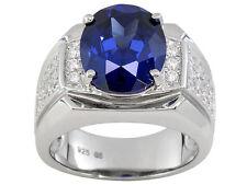 Bella Luce (R) Esotica (Tm) 7.90ctw Tanzanite Color CZ Sterling Silver Ring