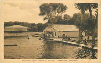 Albertype Bathing Lake Granite Dells Prescott Arizona Brisley Postcard 9167