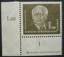 DDR Pieck I MiNr. 253 a DZ postfrisch mit Druckereizeichen 2 mit Fotobefund!!!