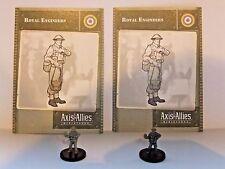 Royal Engineers x2, Axis & Allies-Base Set, 13/48, Tarjeta C/W