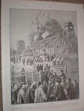 BOXER l'iscrizione a un post Militare Cinese 1900 stampa