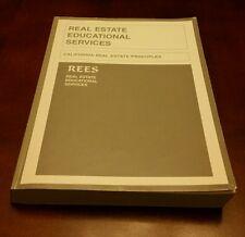 CALIFORNIA REAL ESTATE PRINCIPLES Real Estate Educational Services 2002 Book