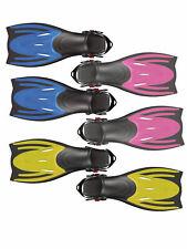 Typhoon Adult Adjustable Flippers Fins Snorkel Scuba Swimming Diving UK 4-12