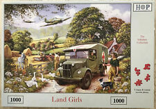 The House Of Puzzles - 1000 PIECE JIGSAW PUZZLE - Land Girls