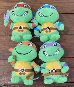 Teenage Mutant Ninja Turtles - Full Set TMNT 15cm TY plush 2017 - Free Shipping
