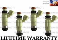 Genuine BOSCH Set Of 4 Fuel Injectors for Mitsubishi Dodge Chrysler 2.4L