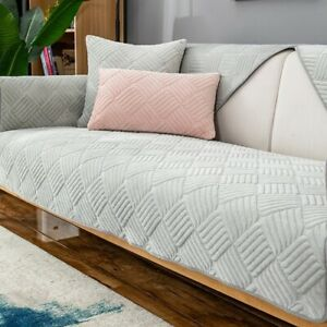Soft Velvet Plush Sofa Cover Sofa Towel Couch Cover Seat Cover Corner Sofa Towel