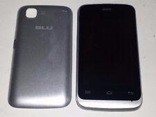 Blu Hero JR S250 White Unlocked Smartphone Dual SIM Cracked LCD No Display.