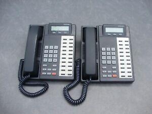2-TOSHIBA STRATA DKT2020-SD 20-BUTTON DESKTOP SPEAKER BUSINESS TELEPHONES