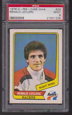 1976 / 77 OPC WHA #28 RENALD LECLERC  PSA 9 MINT  o-pee-chee Indianapolis RACERS