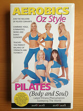 AEROBICS OZ STYLE ~ PILATES (BODY and SOUL) ~ RARE VHS VIDEO