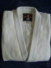 Nouveau judo jitsu gi uniforme kimono poids lourd armure blanc taille 3/160