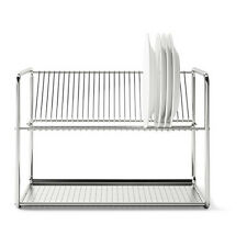 IKEA ORDNING Stainless Steel Kitchen Dish Drainer Rack 50x27x36 cm brand new