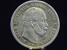 - M.F.B - Dt. Kaiserreich- PREUSSEN - 5 Mark - 1876 A - WILHELM II -   s10