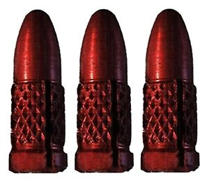 5 Sets Winmau Pro Aluminum Red Bullet Flight Protectors - Ships w/ Tracking