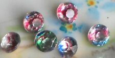 Vintage Iridis Glass Rhinestones IRIS Vitrail Pointed Back Foil 6mm NOS #1113P