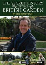 Monty Don The Secret History of The British Garden 5060352302134 DVD Region 2