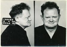 Photo Vintage Bertillon identification Policière Police Mug Shot Usa 1949