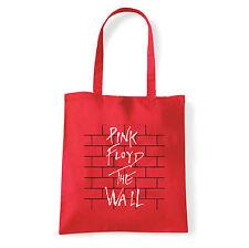 Art T-shirt, Borsa  Pink Floyd The Wall, Rossa, Shopper, Mare