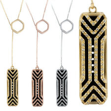 Diamond Design Necklace with Stainless Steel Pendant For Fitbit Flex 2
