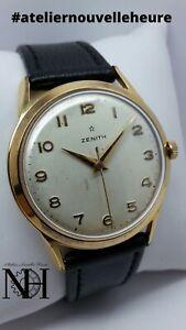 Très belle montre vintage ZENITH (cal.106-50-6) Révisée