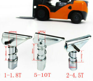 1x Fork Pin Kit Stoppe Forklift Machine For HELI HANGCHA TAILIFU 15/16mm