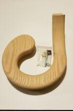 Left Hand (Large) Oak Volute Stair Handrail Fitting #7030 Rail # 6010