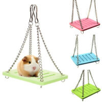 Guinea Pig Pet Small Animal Hamster Toy Swing Cage Accessories Hanging Gadget