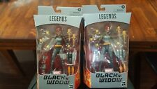 NEW 2020 Marvel Legends Black Widow - Gray Suit (Walmart Exclusive) Lot (2) Figs