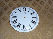 "Round HAC Paper Clock Dial -  5"" M/T- Roman - White - Face / Clock Parts"