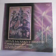33T ASTAZI NASCUT HRISTOS Vinyl LP 12 Roumanie MADRIGAL CONSTANTIN Chrétien Dieu