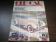 OLD CAR ILLUSTRATED #2 WINTER 1975 SILVERADO CONOURS FORD COLLECTABLES