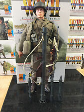 "WWII DRAGON 1/6 US ARMY 2nd INFANTRY BAZOOKAMAN  12"" ACTION FIGURE ELITE FORCE"