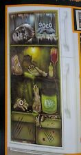 New Halloween Refrigerator prop wall decor mural cover kitchen cupboards Creepy