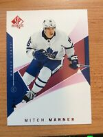 UD SP AUTHENTIC 2018-2019 RED PARALLEL MITCH MARNER HOCKEY CARD #57