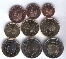 Serie 8 valori + 2 euro Spagna 2017- Oviedo 8° moneta patrimonio Unesco - FDC