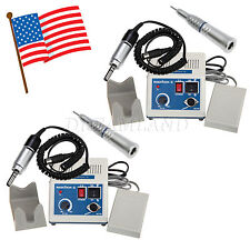 2Set Dental Lab Marathon Electric Micro Motor Low Speed Straight Handpiece N3-GZ