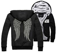 The Walking Dead Daryl Dixon Wings Winter Fleece Men's Hoodie Sweatshirts Unisex