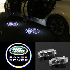 4X LOGO LED PUDDLE PROJECTOR GHOST CAR DOOR LIGHTS HD FOR Land Rover Range Rover