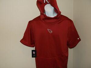 Arizona Cardinals Nike Therma Fit Hoodie Pullover Men's Medium nwt Free Ship