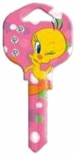 Tweety Bird Bling - Warner Bros Looney Tunes House Key Blank - Collectable Key