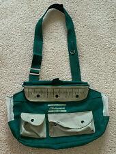 Vintage Shakespeare Lightweight Canvas Fishing Creel Bag, Vents, Pockets