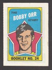 1970-71  TOPPS   BOOKLET  # 24  BOBBY ORR   INV  J5723