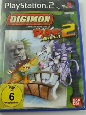 !!! PLAYSTATION ps2 jeu Digimon Rumble Arena 2 d'occasion, mais bien!!!
