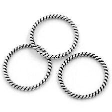 50 Cercles Anneaux Connecteur Pendentif 18mm Dia B24079