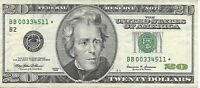 1999 $20 STAR Federal Reserve Bank Note New York PRINT ERROR see photos * * *